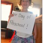 Signs of preschool